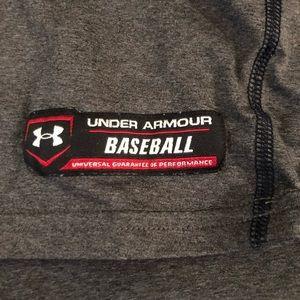 Boys under armor baseball long sleeve
